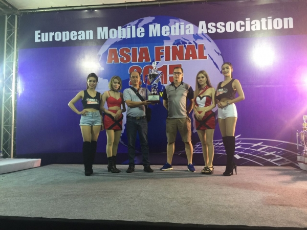 Mr. Erwin takes the third in master unlimited asia final