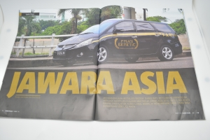 GENETIC CHAMPION ASIA IN CARS GATRA